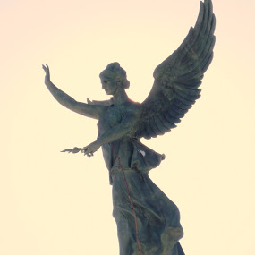 Unlike 'The Stone Angel', by Margret Laurence, this Angel did not traumatize 12 year old Chris.